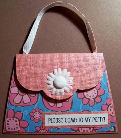 purse party invitation by kaitysmom at splitcoaststers
