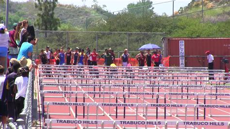 southern section trabuco hills track and field videos boys 300m hurdles