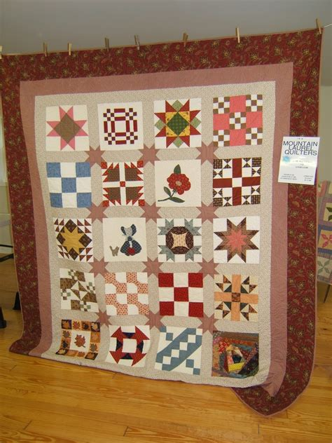 Quilters Quilt Shop by Quilt Raffle Mountain Laurel Quilters