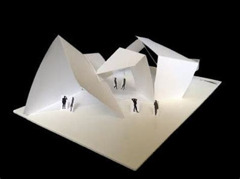 Folding Paper Architecture - best 25 folding architecture ideas on concept
