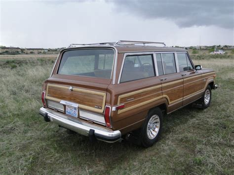 jeep amc 1985 amc jeep grand wagoneer for sale