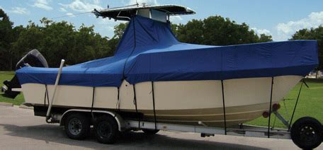 taylor made center console boat covers taylor made t top center console boat cover the hull