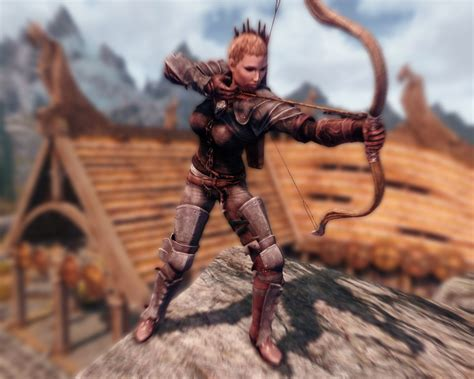 skyrim archer armor mod archer armor deutsch at skyrim nexus mods and community