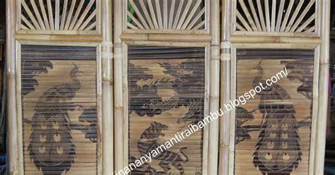 Kursi Bambu Yogyakarta jual sekat ruangan jual kerajinan bambu kerajinan bambu