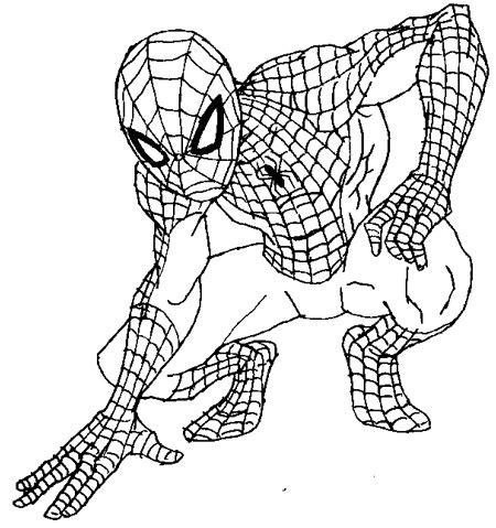 simple spiderman coloring page how to draw spiderman for andrew pinterest coloring