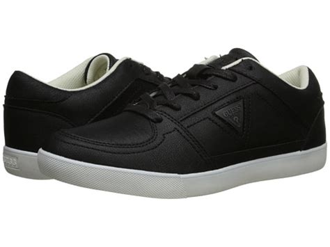 guess athletic shoes guess jamesport mens athletic shoes black grey from 6pm