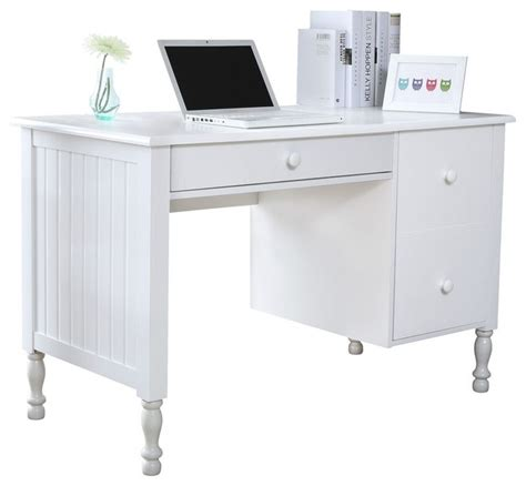 Home Office Desks Officeworks Bassett Solid Wood Desk Traditional Desks And Hutches