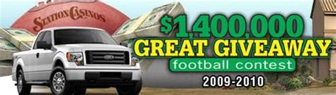 Station Casinos Great Giveaway - casino beat casino football contests living las vegas