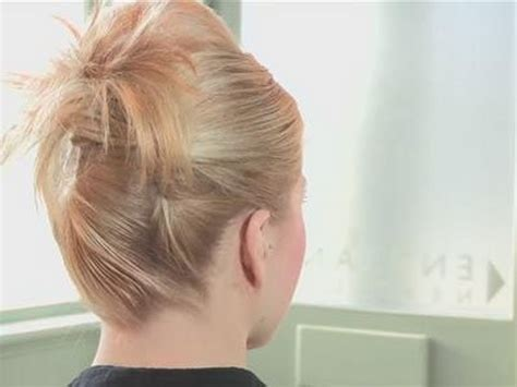 how to put in hair how to put hair in an updo