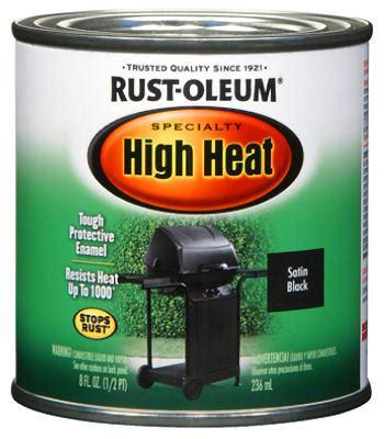 rust oleum 7778 730 rust oleum high heat enamel bbq blk high heat enamel ebay