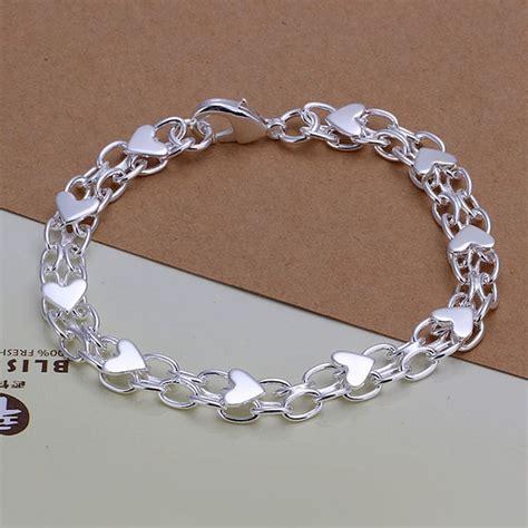 925 Sliver Bracelet s mens unisex 925 sterling silver bracelet 8 quot l23 ebay