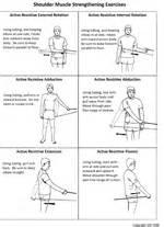 Rotator cuff exercises for pinterest