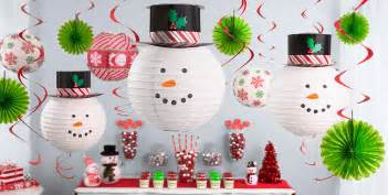 hanging christmas decorations garlands tinsel