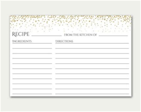 blush pink recipe cards editable recipe card simple