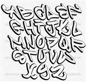 Alphabet Graffiti Fonts