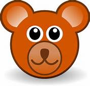 Bear 3 Head Cartoon Brown Teddy Xmas Christmas Stuffed Animal