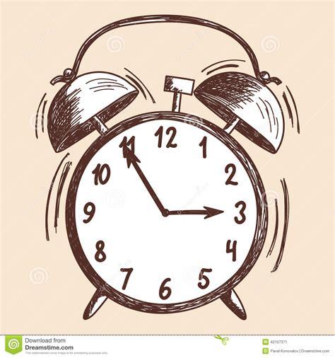 Sweet Home 3d House Design Alarm Clock Sketch Stock Vector Image 42107371