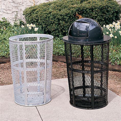 Patio Trash Cans Outdoor by Engman Outdoor Products 187 Outdoor Trash Cans Tops