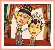 Gambar Kartun Pernikahan