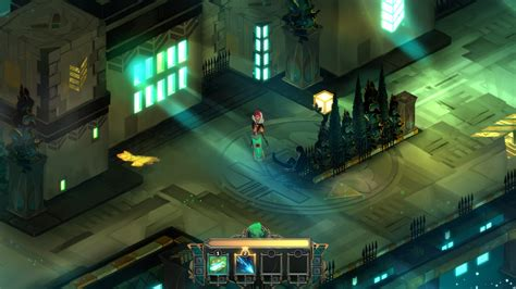 transistor gameplay is transistor review platinum tom s guide