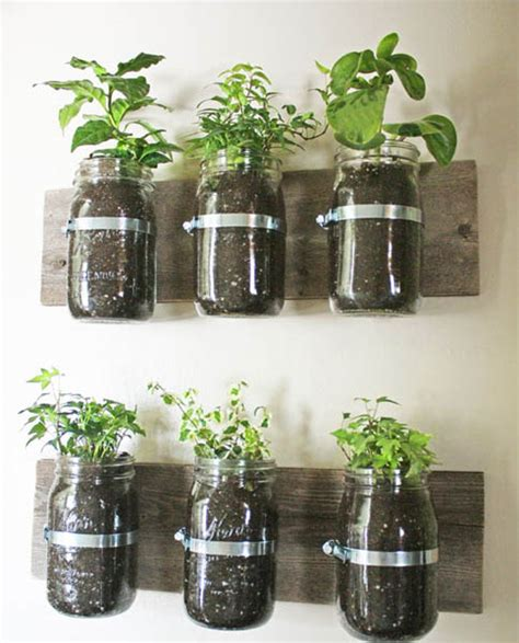 hanging garden containers wall garden design ideas diy projects for decorating
