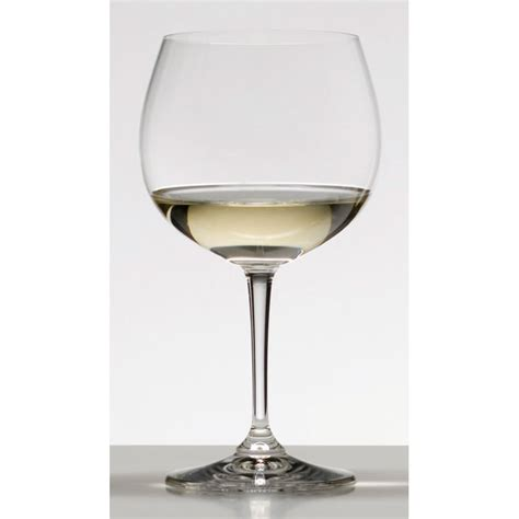 riedel barware riedel restaurant chardonnay white wine glass 600ml