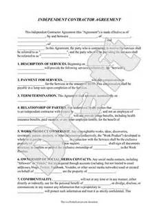Independent contractor agreement contract form rocket lawyer