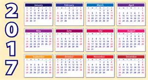 Kalendar 2017 6 calendar 2017 templates with new and simples designs