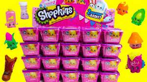 20 shopkins season 2 blind baskets unboxing for shopkins season 2 with