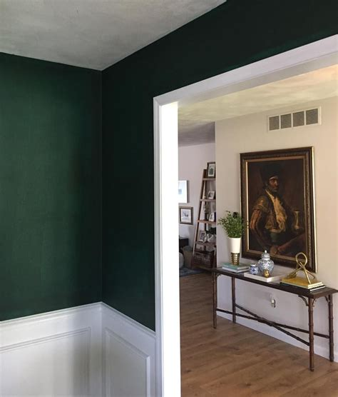 25 best ideas about green painted walls on pinterest benjamin moore hunter green lightened 25 walls