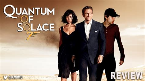 film review of quantum of solace quantum of solace dave examines movies