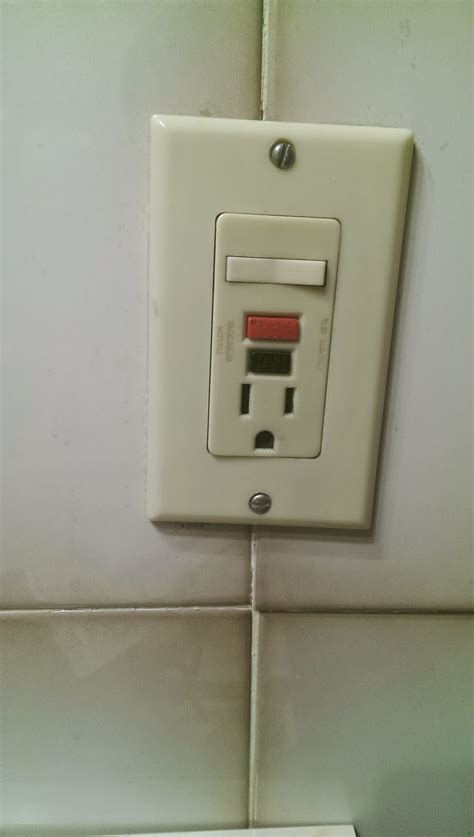 electrical bathroom fan light switch with outlet home