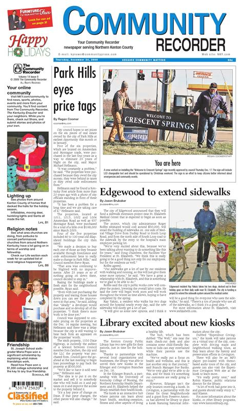 kenton county section 8 community recorder 122409 by enquirer media issuu