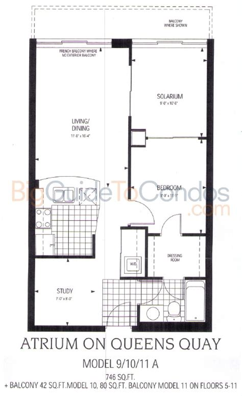 650 queens quay west floor plans 650 queens quay reviews pictures floor plans listings