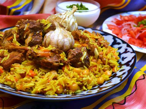 uzbek national cuisine main courses recipe the national dish of uzbekistan tuy palovi