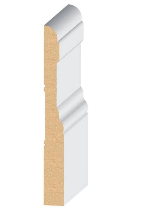 mdf quot el el wood products colonial mdf baseboard moulding 5 1