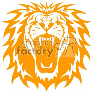royalty free lion head roaring svg cut file 403225 vector