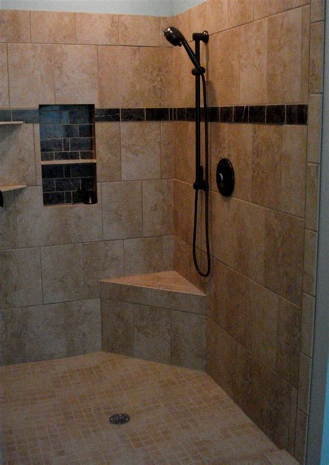 Bathroom Tiled Showers Ideas by Shower Tile Ideas Corner