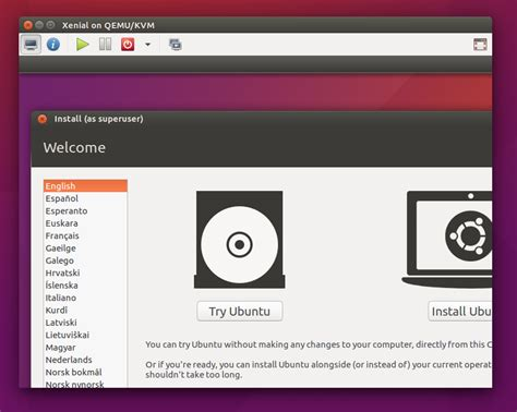 how to install qemu ubuntu how to install ubuntu in qemu kvm virtual machine