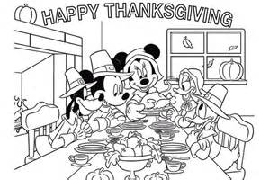 coloring pages thanksgiving disney happy thanksgiving coloring pages for