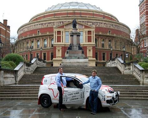 Nach London Mit Auto by Mit Dem Fiat Panda Von Kapstadt Nach London Auto