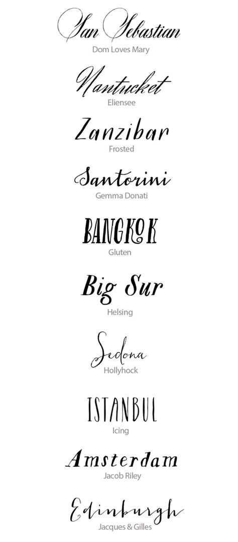 printable hand lettering fonts best calligraphy fonts for weddings 50 hand lettered