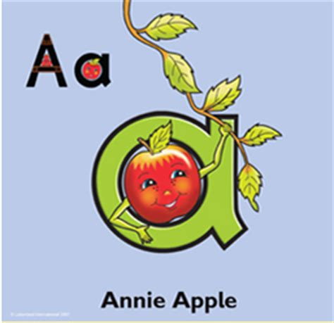 annie apple coloring page our beloved letterland characters where are they now