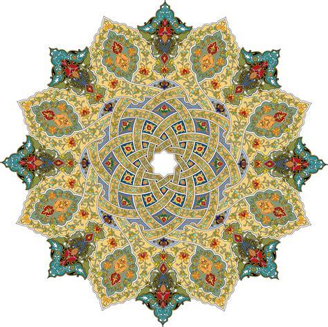 cenefas mandalas 36 floral pattern khatai figuras magicas pinterest