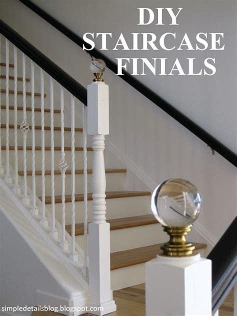 diy curtain finials diy staircase finials simple details finials