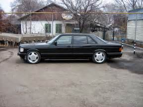 Mercedes W 126 Mercedes W126 500sel Black On Amg Monoblocks Benztuning