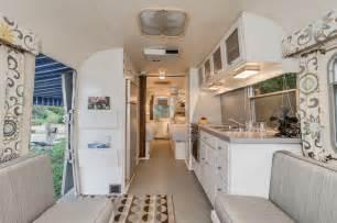 Camper Trailer Kitchen Designs 72 Avion Camper Renovation Midcentury Kitchen