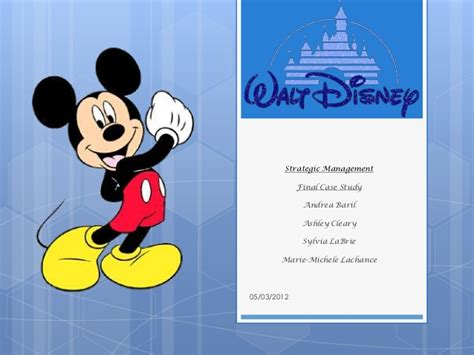 Walt Disney Ppt Disney Powerpoint Template