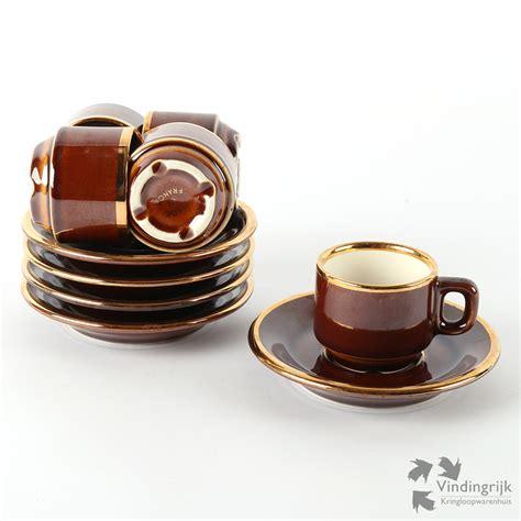 espresso kopjes douwe egberts set espresso kopjes delaunay voor douwe egberts