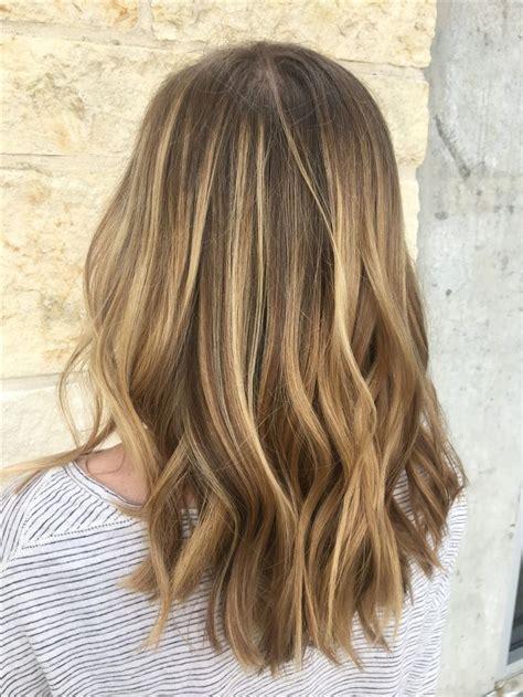 light brown highlights on hair balayage hair highlights balayage on
